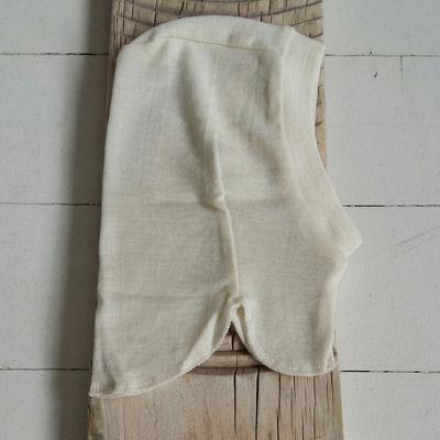 Tynd fin elefanthue i uld/silke