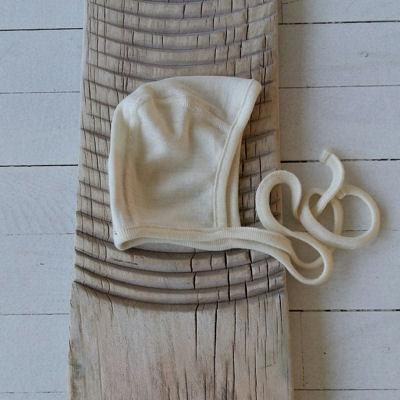Babykyse i uld/silke