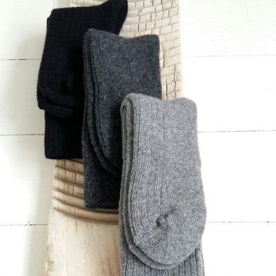 Voksen sokker med kashmir