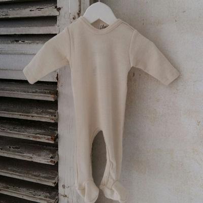 Heldragt i uld/silke