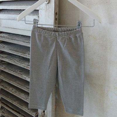 Leggings i silke/bomuld