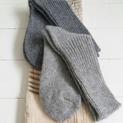 Alpaca/uld sokker.
